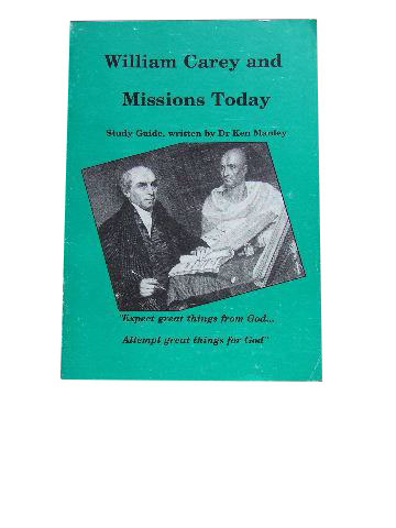 Image for William Carey and Missions Today.