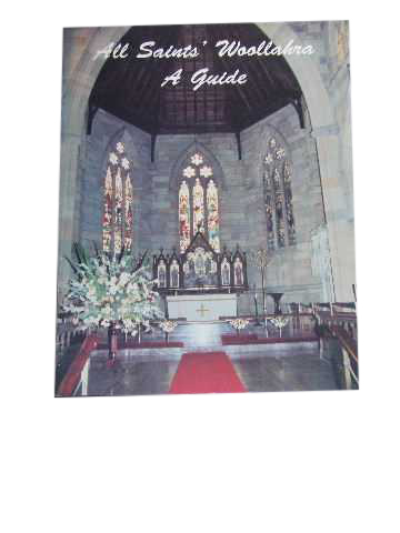 Image for All Saints' Woollahra  A Guide