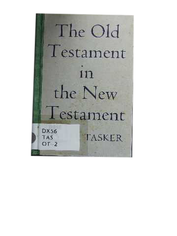 Image for The Old Testament in the New Testament.