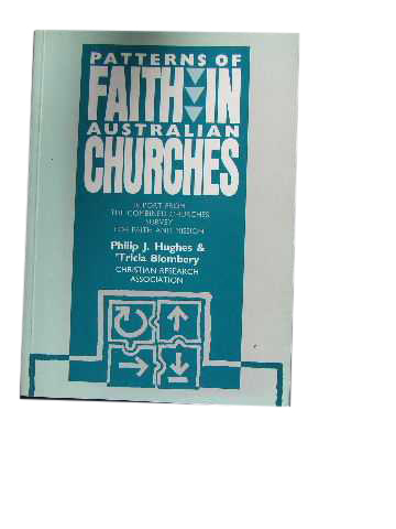 Image for Patterns of Faith in Australian Churches.
