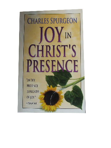 Image for Joy in Christ's Presence.