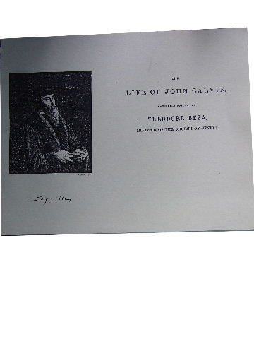 Image for The Life of John Calvin.