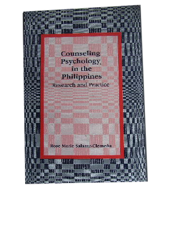 Image for Counseling Psychology in the Philippines  Research and Pracitce
