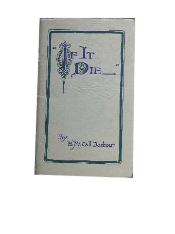"Image for ""If It Die ..""  No 3 Deeper Life Series"