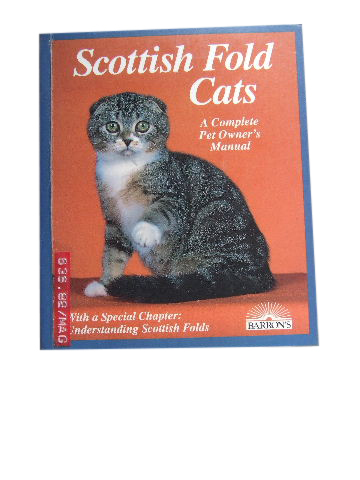 Image for Scottish Fold Cats  A Complete Pet Owner's Manual
