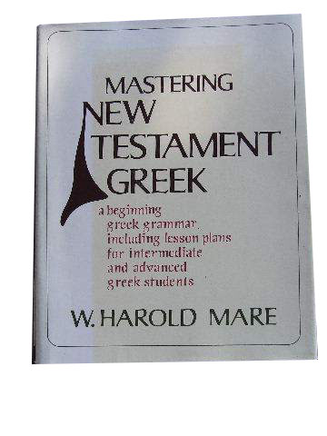 Image for Mastering New Testament Greek.