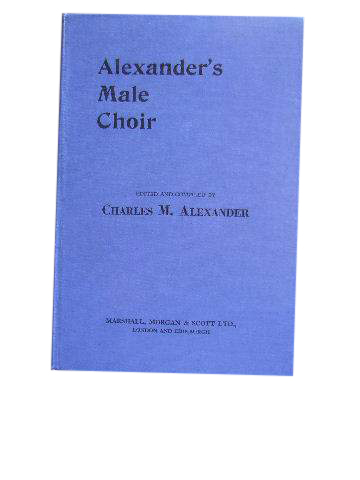 Image for Alexander's Male Choir Music Edition.
