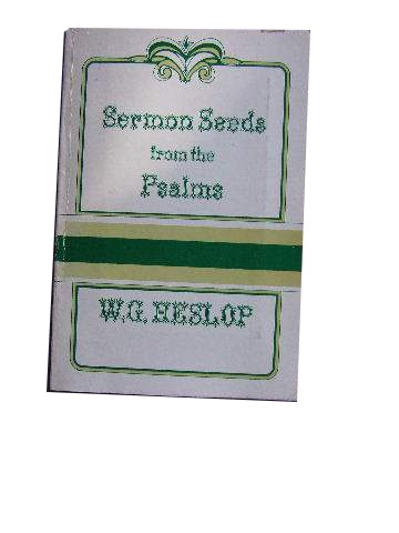 Image for Sermon Seeds freom the Psalms.
