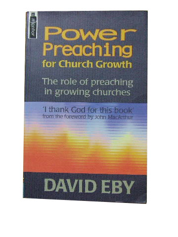 Image for Power Preaching For Church Growth.