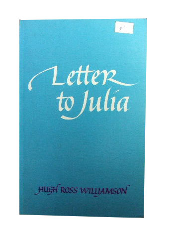 Image for Letter to Julia.
