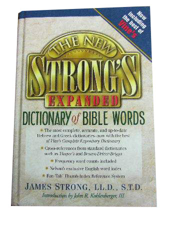 Image for The New Strong's Completre Dictionary of Bible Words.