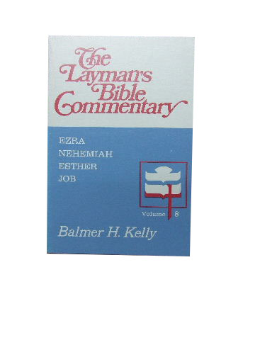 Image for Layman's Bible Commentary Volume 8  Ezra Nehemiah Esther Job