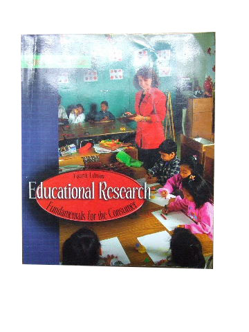 Image for Educational Research  Fundamentals for the Consumer