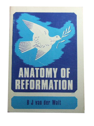 Image for Anatomy of Reformation  Flashes and Fragments of a Reformed Cosmoscope