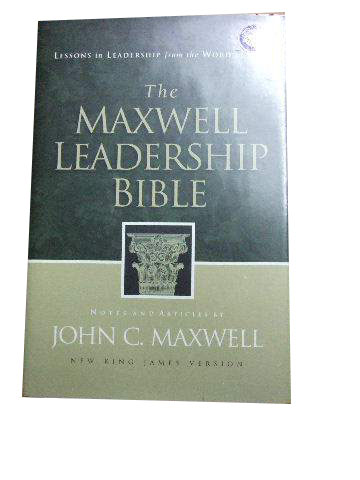 Image for The Maxwell Leadership Bible.