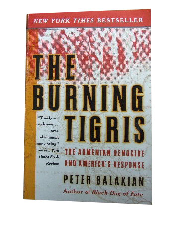 Image for The Burning Tigris  The Armenian Genocide and America's Response