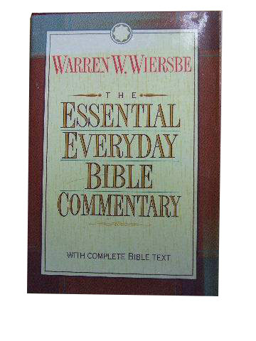 The Essential Everyday Bible Commentary  with the complete text of the New King James Version