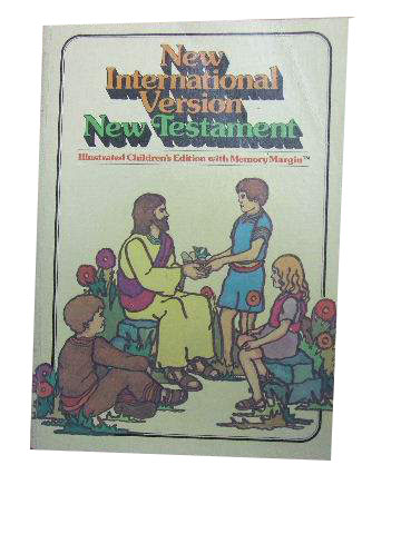 New Testament  Illustrated Children's edition with Memory Margin