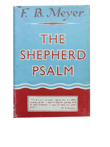 Image for The Shepherd Psalm.