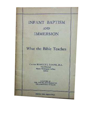 Image for Infant Baptism & Immersion  What The Bible Teaches