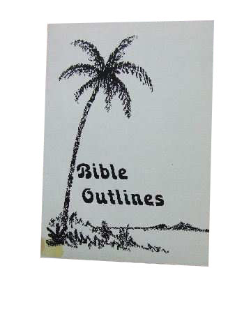 Image for Bible Outlines  Texts on Important Doctrines / Bible Lessons Courses