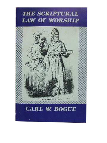Image for The Scriptural Law of Worship.