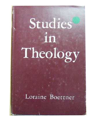 Image for Studies in Theology.